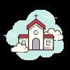Icons8 church 100